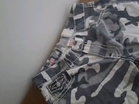 True Religion Shorts(black and white camo) 725 km