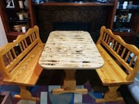 Kitchen table with 2 bench seats Keyport, 98345