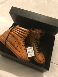 Authentic MCM high tops New in box Toronto