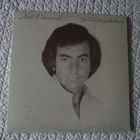 """""""You Don't Bring Me Flowers"""" 33 1/3 rpm LP by Neil Diamond Hanover"""