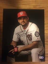 Ryan Zimmerman Autographed Photo Falls Church, 22046