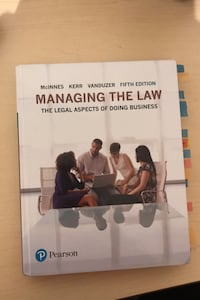 Managing The Law Pearson Mississauga, L5A 2B6