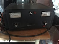 black and gray air Power supplies astron 70 amperes altered gives you 100 amp is. 1128 mi