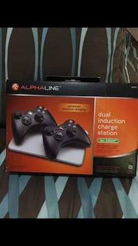 Alphaline dual induction charge station for XBOX 360