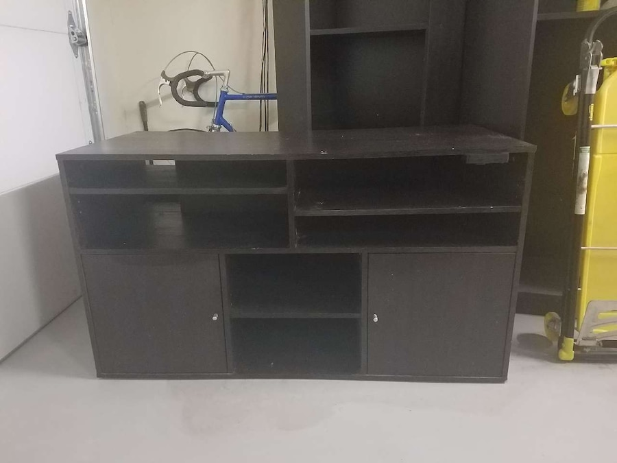 used ikea bests t v stand with storage in chandler