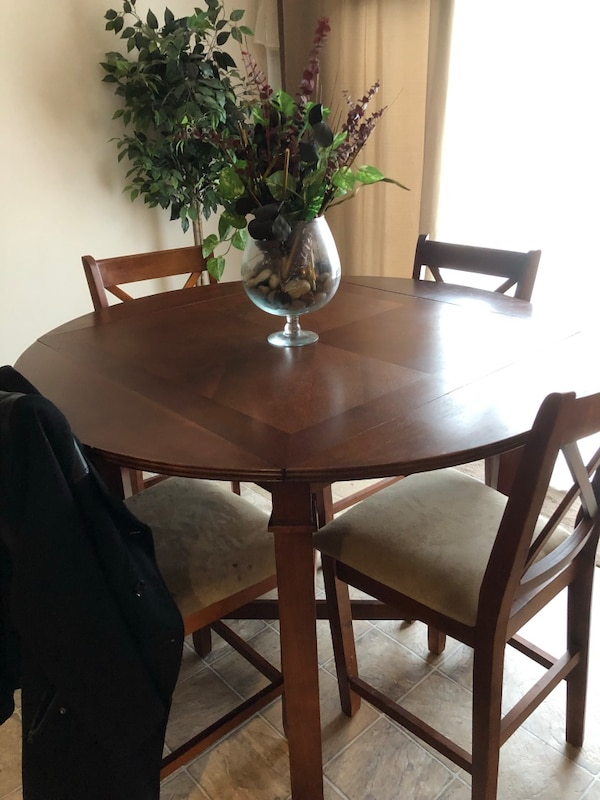 Brown Wooden Kitchen Table ONLY