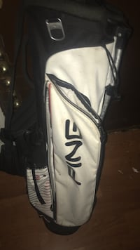 White and black Ping stand bag   Snellville, 30039