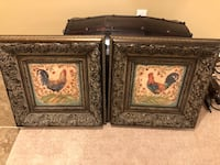 """Beautiful over the top frames ( Set of 2 ) 23-1/2"""" X 23-1/2"""""""