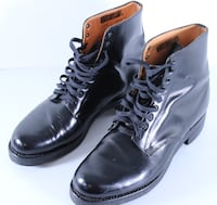 Royal Canadian Mounted Police ~ Winnipeg Police Department Leather Parade Boots Winnipeg