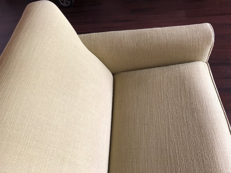 Sofa Bed - Pull Out - Light Green - Crate and Barrel / Land of Nod c9aa7b00-5203-4a95-9f93-97f47dd8c43a