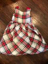 white, red, and black plaid sleeveless dress West Deptford, 08096