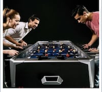 Brand new! -Still in the box foosball table. Not negotiable .  HALETHORPE