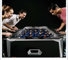 Brand new! -Still in the box foosball table. Not negotiable .