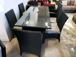 Display Patio dining table set