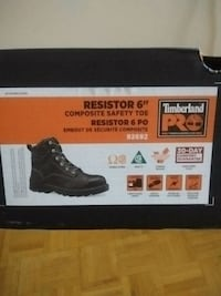 Black brand new in box size 11 timberland pro  Toronto, M4C 5A2