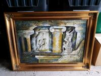 Antique authentic painting Brampton, L6Z 1R2