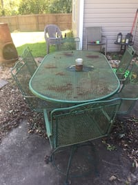 Patio table Hubert, 28539