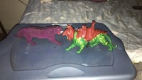 green and red dinosaur plastic toy Fairfax, 22030