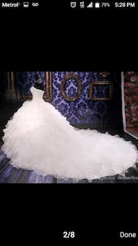 Never been worn White Wedding gown  Baltimore, 21230