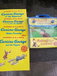 Curious George books Oakville, L6J 6T4