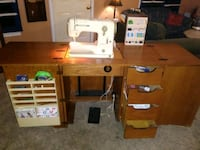 Bernina Record 730 Sewing machine and cabinet Citrus Heights, 95610
