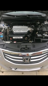 black and gray car engine bay