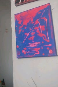 Abstract painting  donations accepted Toronto, M3L 1K4