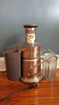 gray stainless steel power juicer Washington, 20011