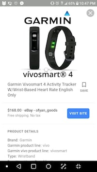 black and gray Fitbit Alta Kansas City, 64132