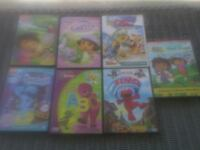 $6 for all 7 kids dvds all good condition. Tipton, 46072