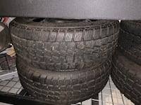 Four Set Winter Tires with Rims Vaughan