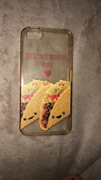 Let's Taco 'bout us baby iPhone case Hartford City, 47348