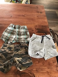 6 month boys shorts  North Middlesex, N0M