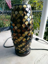 Beautiful mermaid scale style lamp Franklin, 37069