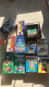 boxes of Sport Trading Cards Ashburn, 20147