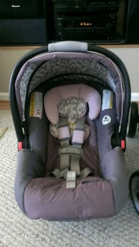 baby's pink, black and gray car seat carrier Woodbridge, 22192