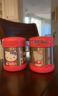 2 New Hello kitty thermos  Chantilly, 20152