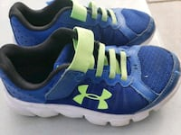 blue-and-white Under Armour running shoes Pharr, 78577