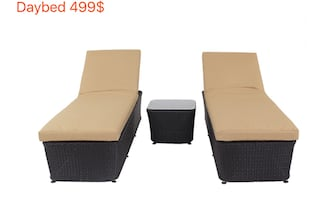 Patio furniture Chaise lounges