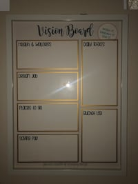 Vision Board with dry erase marker  Fairfield, 94534