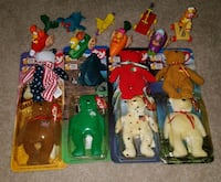 McDonalds Toys 1990s some unopened Hamilton