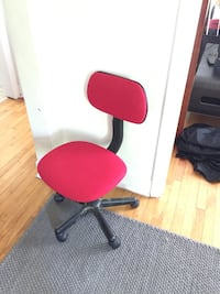red and black rolling chair Halifax, B3K 3W2
