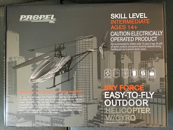 Used Propel Sky Force RC Helicopter for sale in Casselberry - letgo