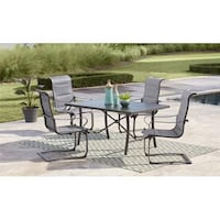 Patio Set - COSCO Outdoor Living SmartConnect (Table+4 Chairs)