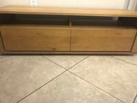 brown wooden 2-drawer chest West Kendall, 33193
