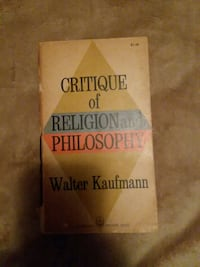 Critique of religion and philosophy  Hagerstown, 21740