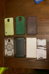 Excellent condition S5 with charger, cases and protector