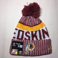 Washington Redskins beanie hat Brandywine, 20613