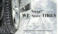 Winter Tire Swap special $39.95. Storage available Toronto, M1E 1Z2