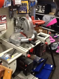 gray and orange SKIL miter saw Hagerstown, 21740